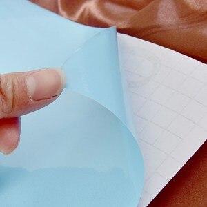 Image 4 - 0.4x5 M Mutfak Dolabı Su Geçirmez Çıkartmalar Mobilya Dolap Masa Kapı Kendinden Yapışkanlı Duvar Kağıdı Düz Renk Boya Duvar Sticker