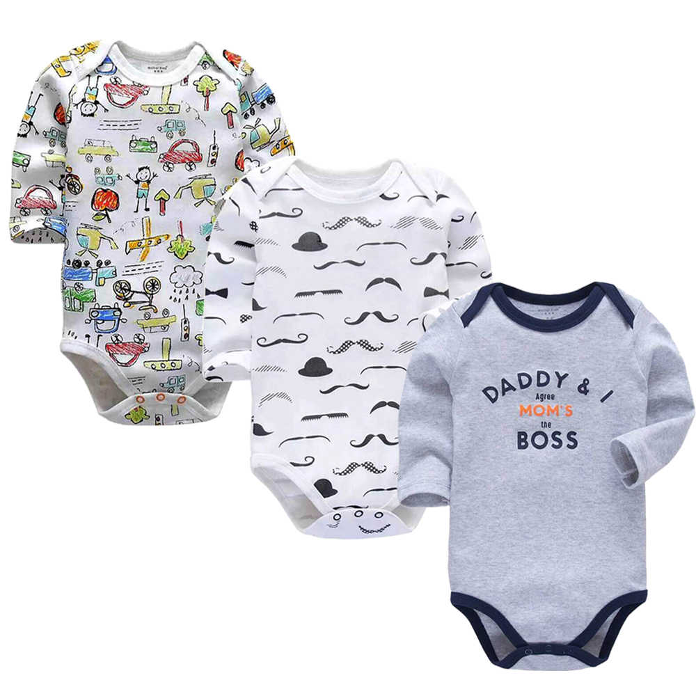 830860f38a681 Baby Boys Clothes Newborn Babies Girls Underwear 3 Pack Infant Long Sleeve  3 6 9 12
