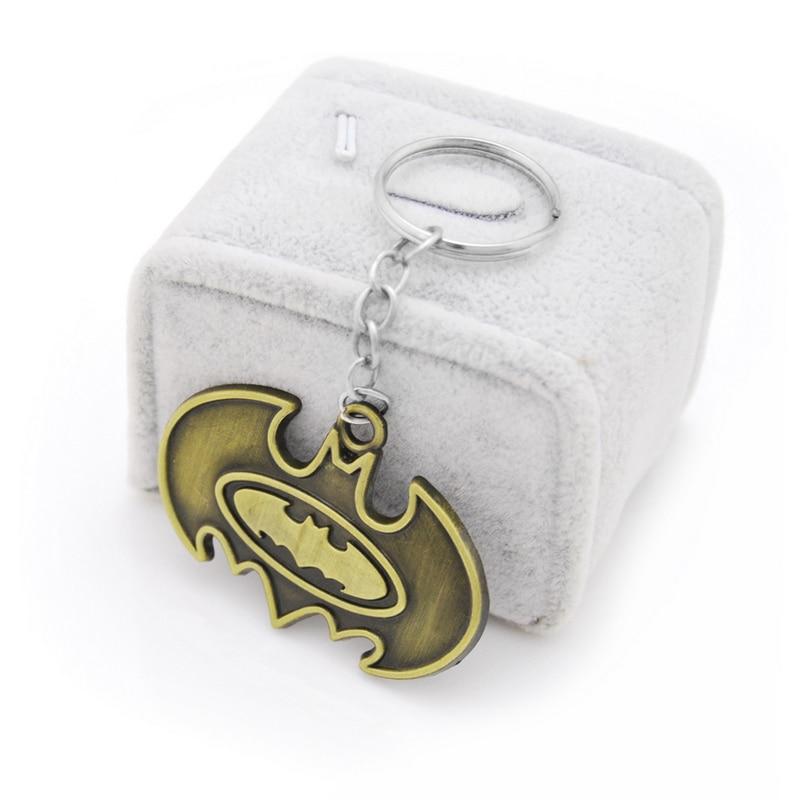 Супергерой Бэтмен брелок Темный рыцарь Брелоки для автомобиля держатель для мужчин подарок автомобильный брелок ювелирные изделия кино су...
