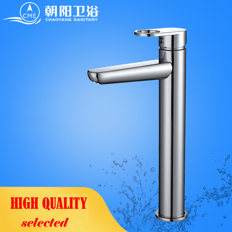 CME ceramic plate spool bathroom faucet deck mounted basin faucet hot and cold water mixer polished chrome basin tap L153H sognare square chrome bathroom faucet deck mounted basin mixer faucet hot and cold water tap single handle bathroom mixer d1108