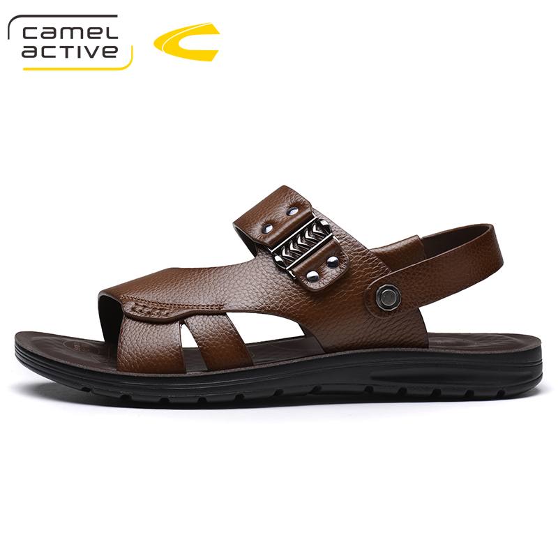 Camel Active Brand Breathable Sandals Men Shoes Real