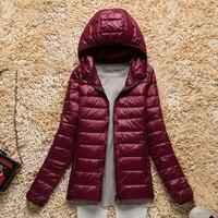spring autumn jacket women 2018 hoody winter elegant thin asual warm long sleeve fashion female outwear coat plus size 3xl 4xl