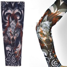 1Pcs Bloody Wolf Design Fashion Temporary Tattoo Sleeve Tatuaje Temporal Top Selling Cool Man Arm Tattoo Sleeves