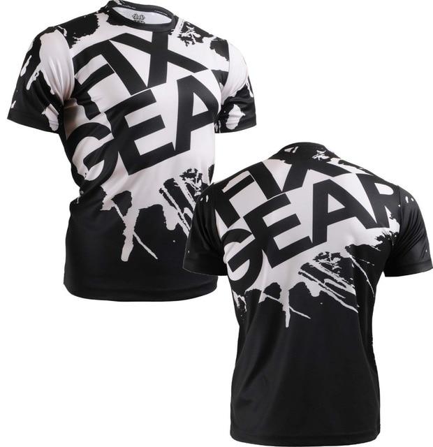 {No. RM-5402} FIXGEAR Tennis Golf T-Shirts Custom Design Printing Men's Sports Tee Crew Neck Short Casual T-shirts S~XXXL