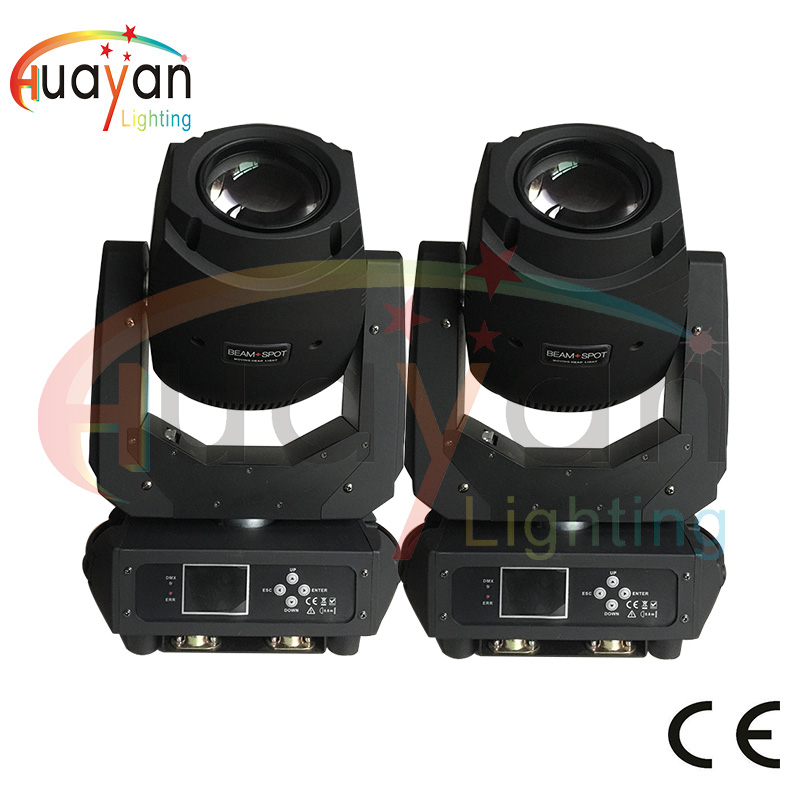 Free Shipping:2PCS/LOT 200W LED Lyre Moving Head Light Beam Spot Wash 3in1 Light for DJ Disco Nightclub Part DJ/Bar/Party/Show