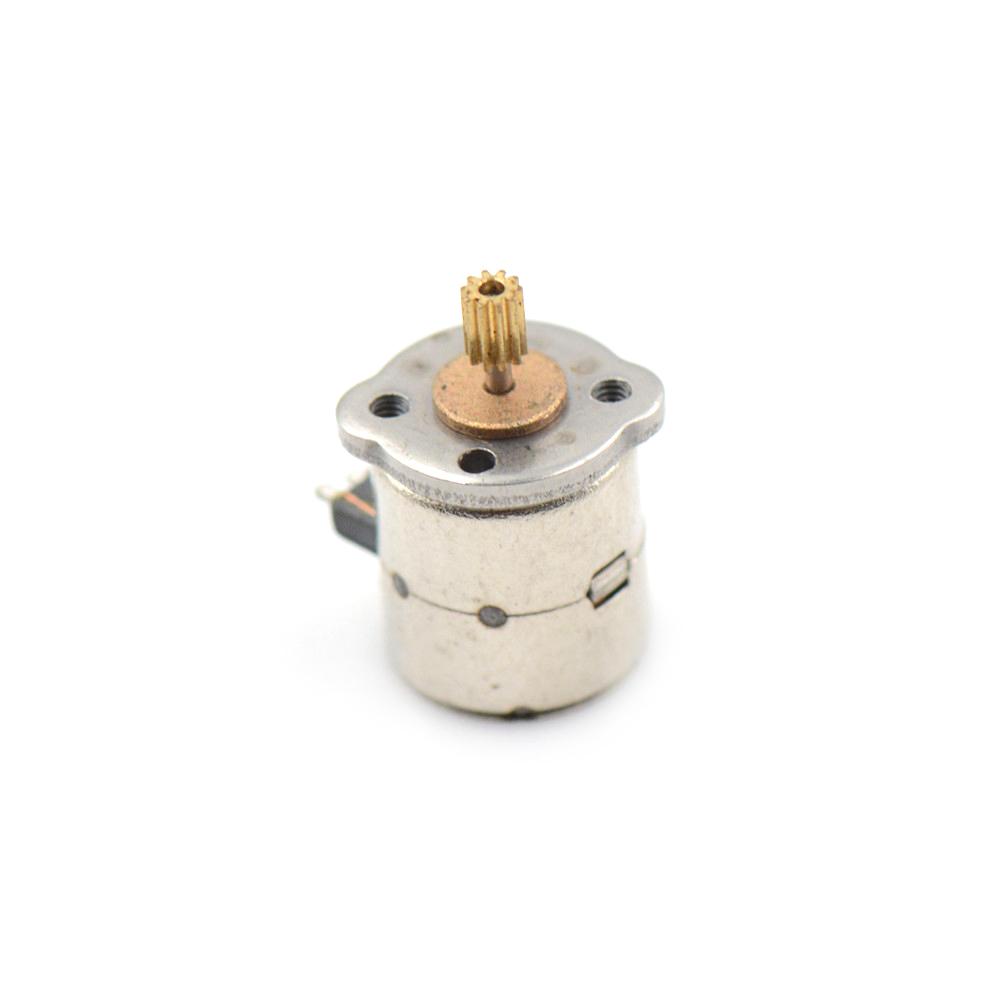 5 teile/los 3 V Dc 2 Phase 4 Drahtdurchmesser 8mm Dc Schrittmotor ...