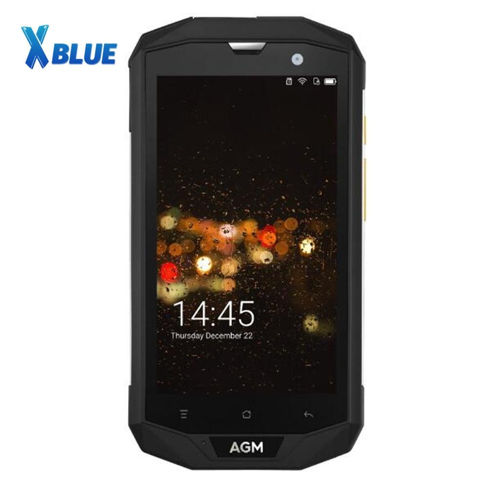 Original AGM A8 EU 4GB RAM 64GB ROM 5 0 HD Shockproof Waterproof Phone IP68 Qualcomm