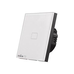 Image 4 - Broadlink TC2 1/2/3 Gang EU Standard Новый выключатель света современный дизайн белая сенсорная панель Wifi беспроводное умное управление через RM Pro