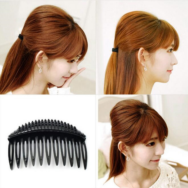 Makeup Hair Clips For Girls Hair Accessories Puff Paste Heightening