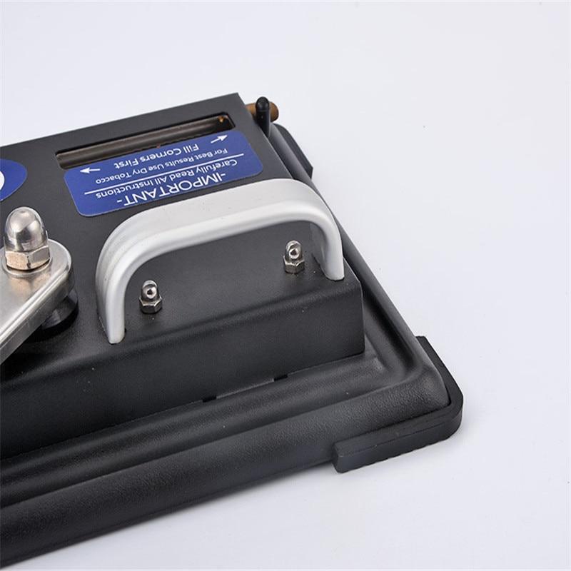 5 pcs/lot nouveau design tabac fabricant métal automatique Cigarette Machine à rouler rouleau Match vide tabac tuyau vide fumée tuyau