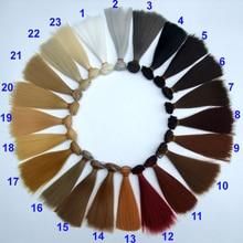 High temperature 15cm doll wig hair for 1 3 1 4 1 6 BJD diy handmada