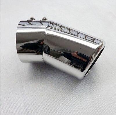 Silencieux de tuyau d'échappement pour Toyota Land Cruiser 200 2007 2013 pour Lexus LX570 accessoires de style Auto en acier inoxydable 1 pièces