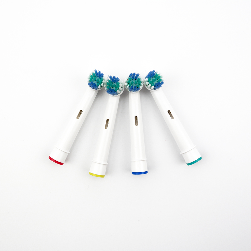 4pcs/packs Electric Toothbrush Heads Brush Heads Replacement for Oral Hygiene B Sensitive SB-17A For Family Use image