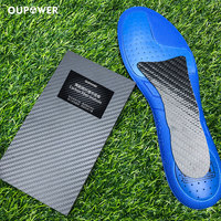 Carbon fiber midsole insole for football shoes basketball shoes running shoes