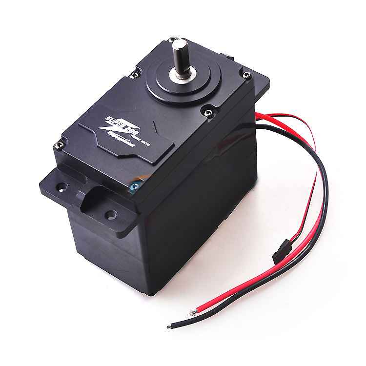 1PC SUPER200/300/500 Large Torque Metal Servo DC 12V 24V 200kg.cm Servo Arm for RC Model Robot Spare Parts