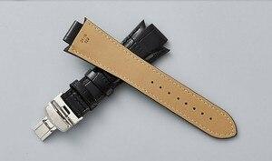 Image 5 - T60 14 ミリメートル × 24 ミリメートル L975.110 革時計バンドストラップウォッチ男性時計バンド T60