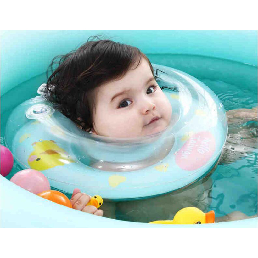 0 24M Baby Swimming Neck Float Ring Inflatable Kid Neck Swim Ring ...