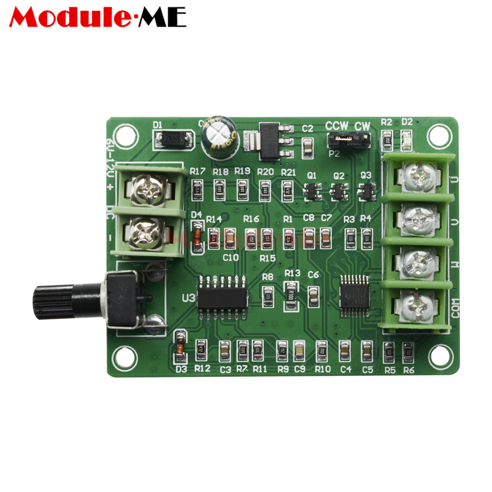 New <font><b>5V</b></font>-<font><b>12V</b></font> <font><b>DC</b></font> <font><b>Brushless</b></font> <font><b>Driver</b></font> <font><b>Board</b></font> Controller for Hard Drive Motor 3/4 Wire Potentiometer Switch image