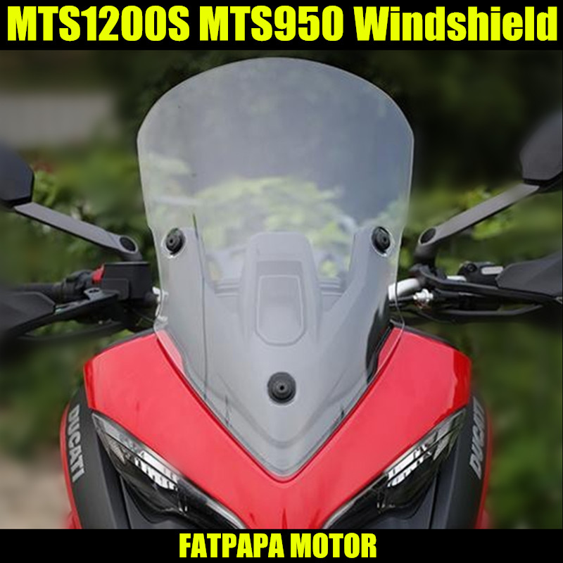 MTS 1200 950 accessoires de moto pare-brise pour DUCATI MTS1200S MTS950 MTS1200 SMTS 1200 950 accessoires de moto pare-brise pour DUCATI MTS1200S MTS950 MTS1200 S