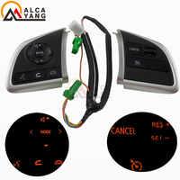 Pour Mitsubishi Outlander 2013 2014 2015 Mirage 2014 2015 Audio Radio contrôle régulateur de vitesse commutateur volant bouton de commutation