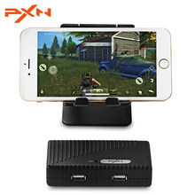 PXN k10 Mouse and Keyboard Dual ports Bluetooth Wireless Converter Mobile FPS Game Controller for Android smartphone tablet(China)