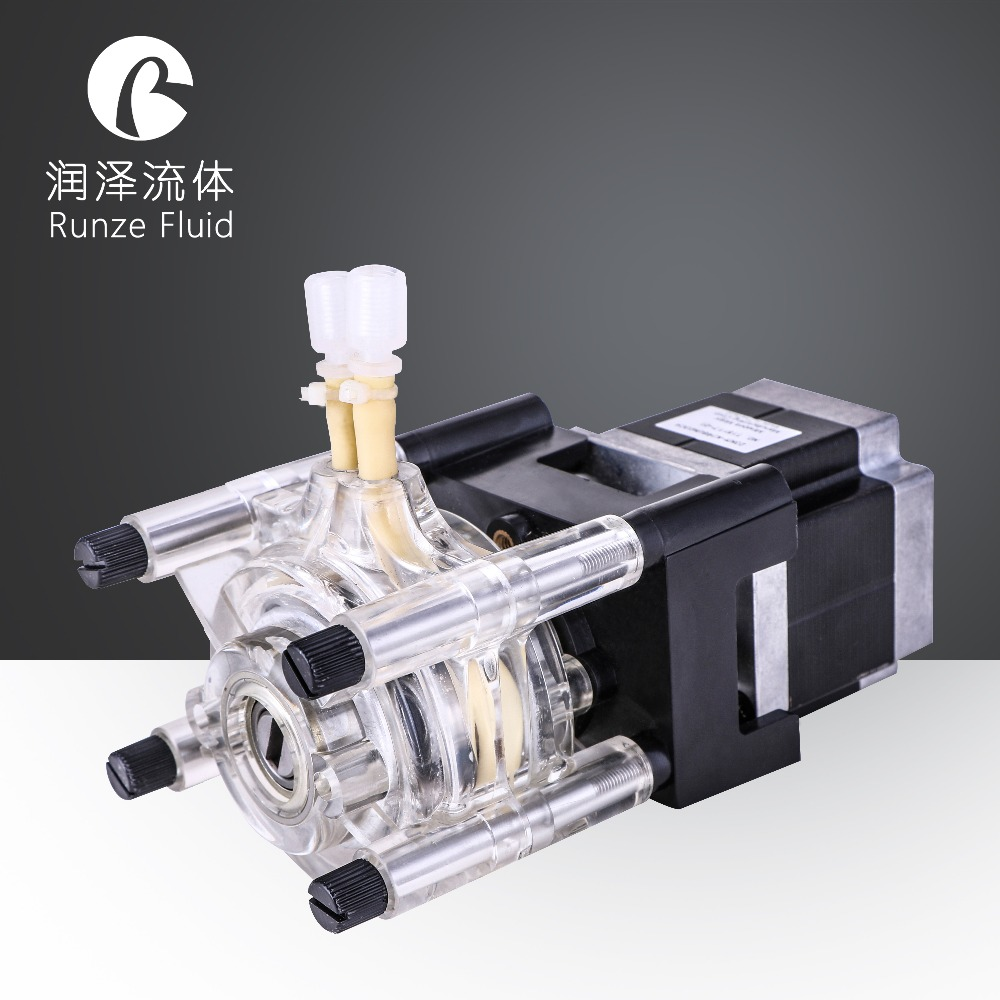 3 roller speed variable dishwasher peristaltic pump stepper motor peristaltic pump basictype bt100m mc12 6 roller
