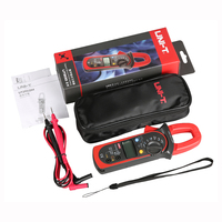 M134 UNI T UT203 3999 Count 40A to 400A AC/DC Current Digital Clamp Meter Multimeter with Voltage Resistance Frequency Test