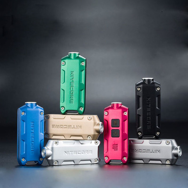 Nitecore TIP USB Oplaadbare LED met batterij sleutel knop Licht ...