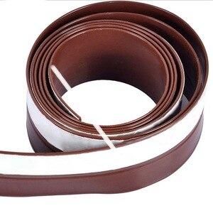 Image 5 - Силиконовая самоклеящаяся уплотнительная лента для зачистки под дверцей, уплотнительная лента для окон, изолятор для защиты от зачистки дверей