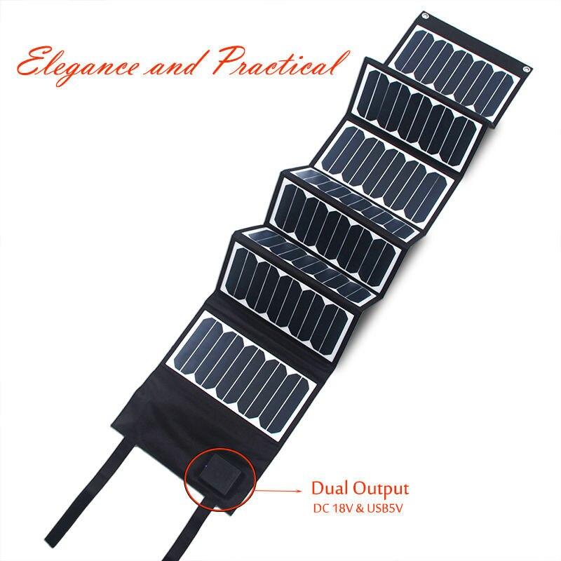 60W sunpower solar panel 4