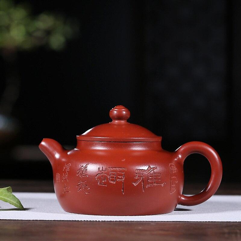 Fan Quan manual yixing wooden box dahongpao han wind pot of daily provisions 2018 new tea potFan Quan manual yixing wooden box dahongpao han wind pot of daily provisions 2018 new tea pot