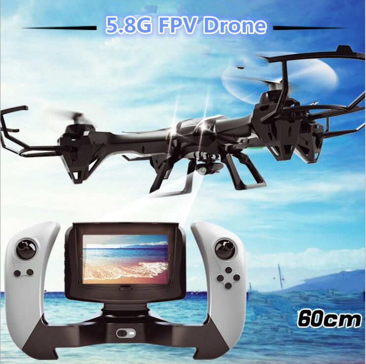 Hot U818S 2.4G 4CH 5.8G FPV Professional RC drone quadcopter 6 Axis Gyro 3D Flip RTF Remote Control helicopter with 5.0MP