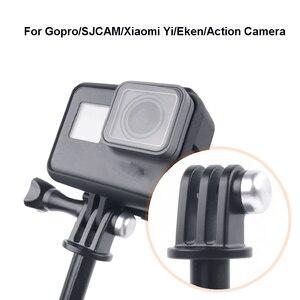Image 4 - Tekcam tripé selfie vara montagem para go pro herói 7/6/5/4 montagem sessão gopro sjcam sj6 sj7 sj8 sj5000/xiaomi yi 4k lite eken h9r
