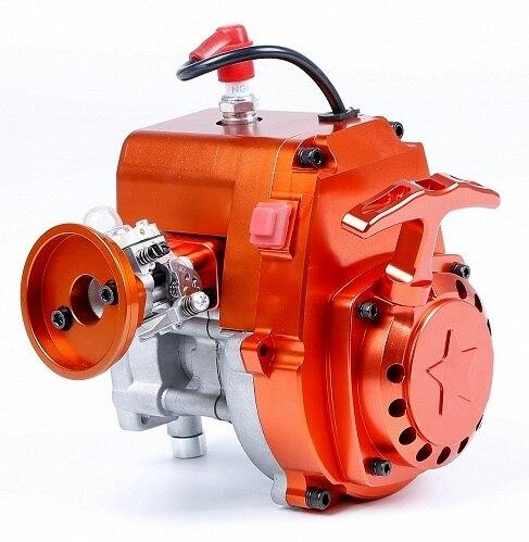 CNC 4 болта 32cc двигатели для 1/5 hpi rovan КМ baja 5b/5 т/5sc LOSI 5 т DBXL FG Багги Redcat rc части автомобиля