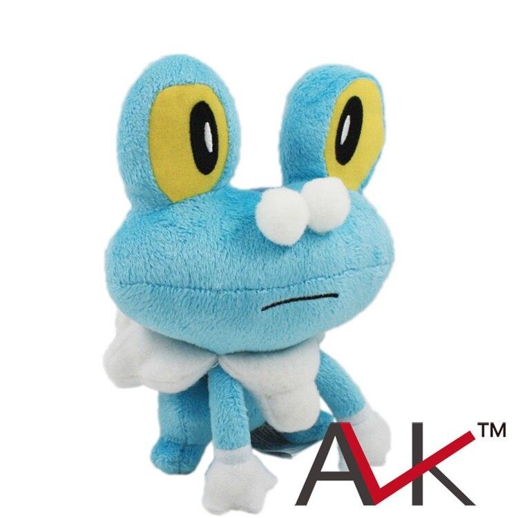Покемон плюшевые небольшой Пены лягушка Плюшевые Игрушки Аниме Чучела куклы Мягкие фигура игрушки 18 см лягушка кукла для подарка