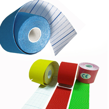 Elastic Kinesiology Tape 5 Meter Sports Roll Physio Muscle Strain Injury Support цена