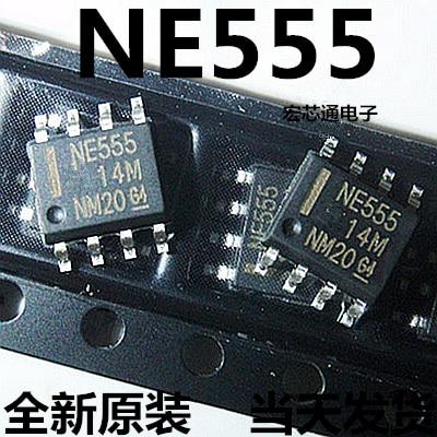 100pcs/lot NE555 NE555D 555 Timers SMD 555 NE SOP-8 In Stock
