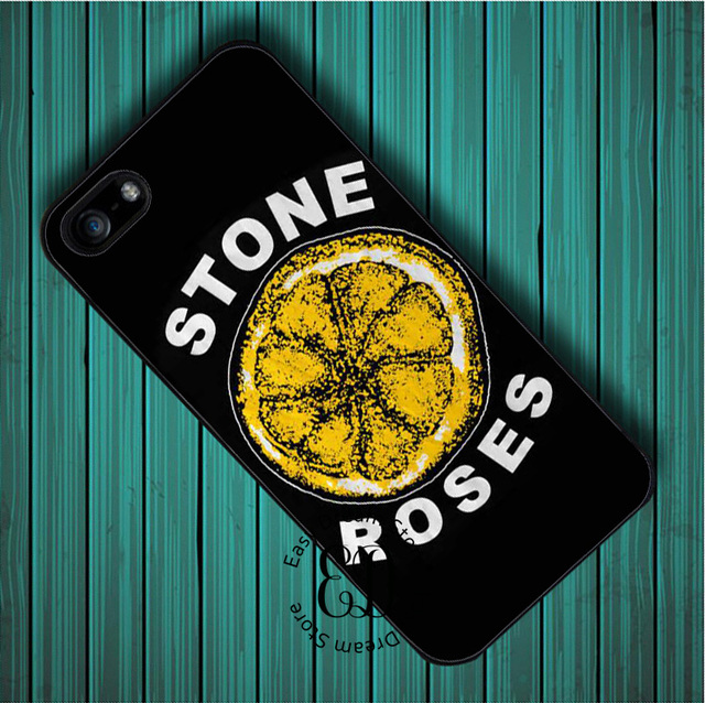 size 40 32b13 073ef US $4.99 |Black The Stone Roses cover case for iphone X 4s 5s SE 5c 6 6s 7  8 Plus Samsung J7 s4 s5 mini s6 s7 s8 s9 edge plus Note 3 4 8-in ...
