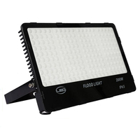 20pc Ultrathin Foco LED Exterior FloodLight 200w Garden Spot AC85 265V Reflector Waterproof IP66 Spotlight Wall Outdoor Lighting