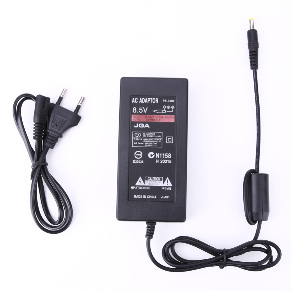 Adaptateur D'alimentation de Remplacement AC 100 ~ 240 V à DC 8.5 V 5.6A Câble Console Chargeur pour Sony Playstation2 PS2 70000 UE Plug