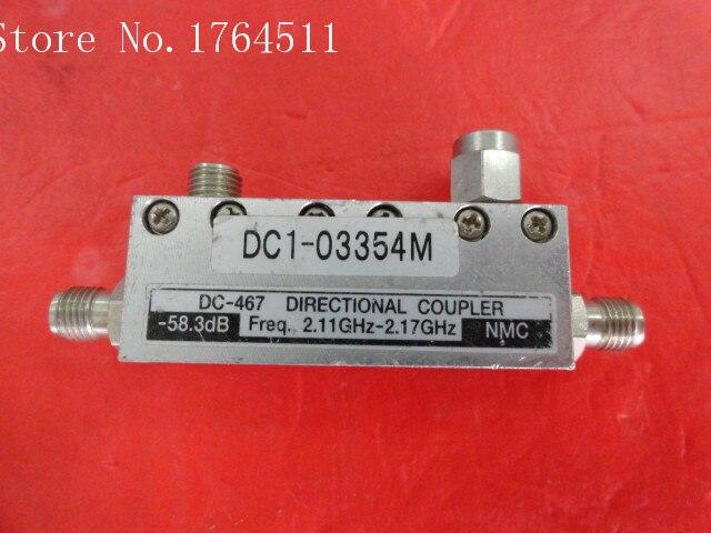 [BELLA] NMC DC-467 2.11-2.17GHz 58.3dB Directional Coupler SMA