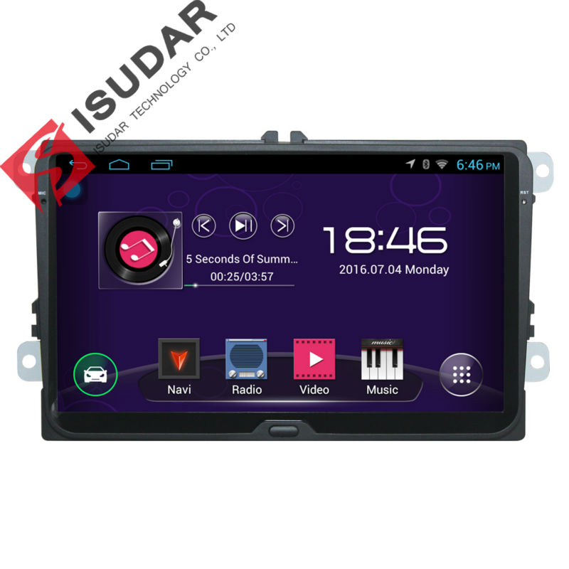 9 Inch font b Android b font Car DVD GPS Video Player For VW Volkswagen POLO