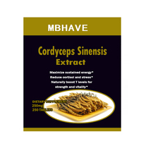 CS 4 250PCS Cordyceps Sinensis Extract Mushroom Extract