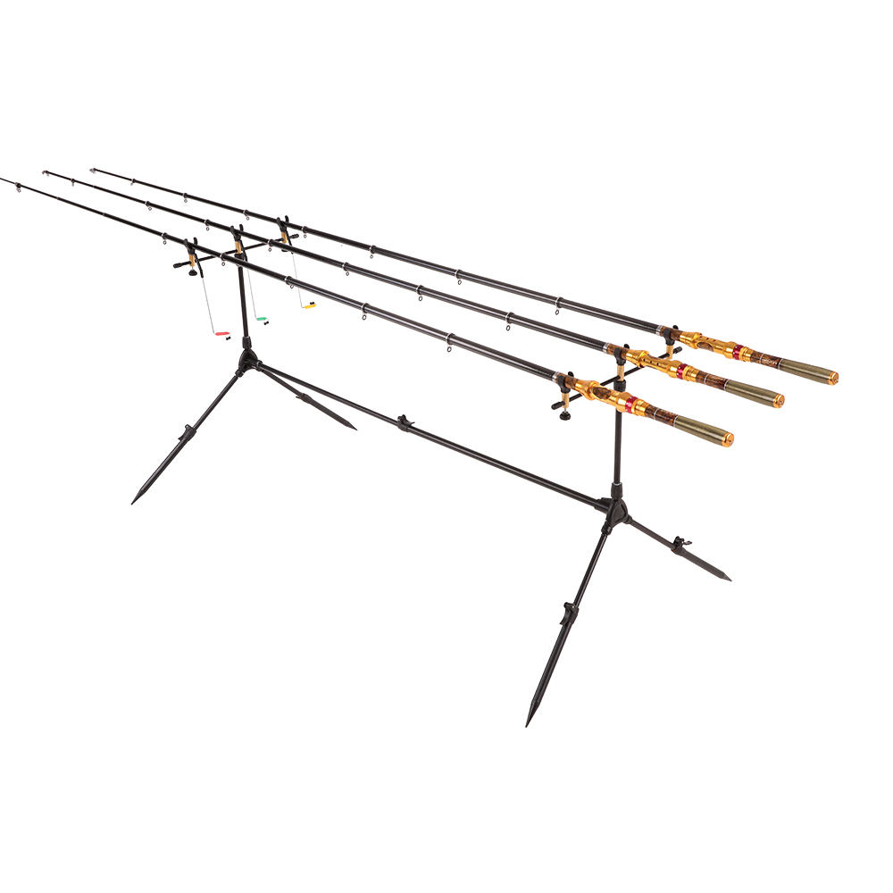Lixada Adjustable Carp Fishing Holder For Rod Pole Stand For Fishing Rod Pod Retractable Tackle Accessories For Fishing Supplies
