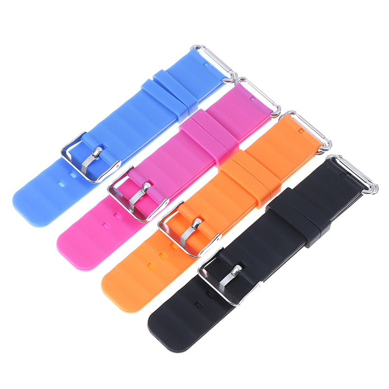 Replace Smart Watch Strap For Watch Strap For Children's GPS Tracker Watchband Silicone Wrist With Connection