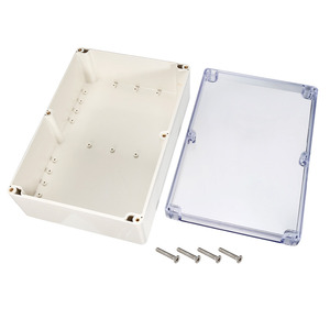 Image 2 - Uxcell 200x120x56mm Wateproof Electronic  Junction Project Box ABS Plastic DIY Enclosure Case Outdoor/Indoor Boxes 158x90x60mm