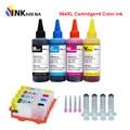 Kits de recharge jet d'encre INKARENA 564XL compatibles pour cartouche HP 564 Deskjet 3070A 3520 5520 6510 + 4 bouteilles d'encre pour imprimante à colorant|Cartouches d'encre| |  -