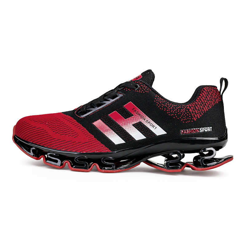 mens springblade running shoes cushioning soles men sneakers Super Cool breathable mesh sport shoes outdoor sapatos homens