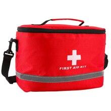 応急処置キットキャンプ軍事キット大ショルダーストラップポータブル車の緊急医療バッグホームトラベル屋外収納袋