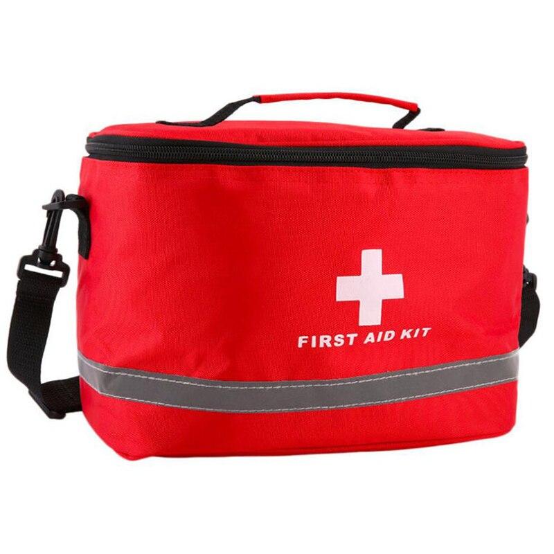 Trousse de premiers soins Camping Kits militaires grande bandoulière Portable voiture d'urgence sac médical maison voyage sac de rangement en plein air